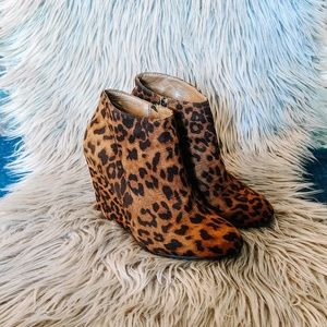Madden Girl Leopard Booties